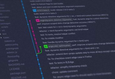 an image showing code versioning